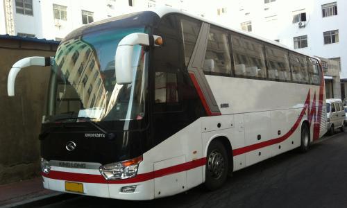 广州上下班租车的大巴55座