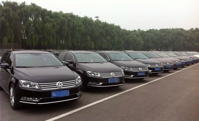 广州上下班租车的大众车队